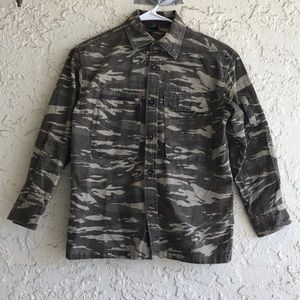 Gap Army Camo Print Jacket